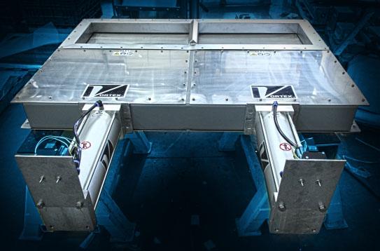 Custom Double Roller Gate